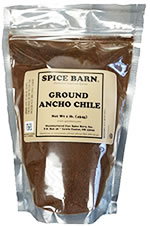 Ancho Chili Powder Bag