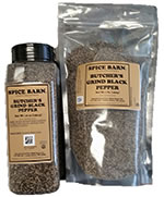 Butcher's Grind Black Pepper Containers