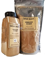 Ground Cumin Quart and Bag