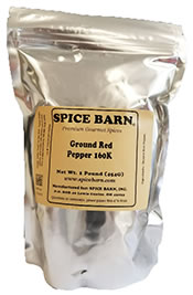 Ground Red Pepper Bag
