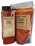 Smoked Sweet Paprika Quart and Bag.
