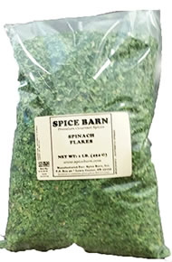 Spinach Flakes Bag